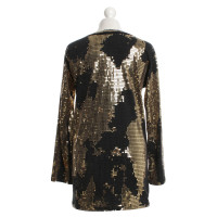 Balmain Gold color sequins-top