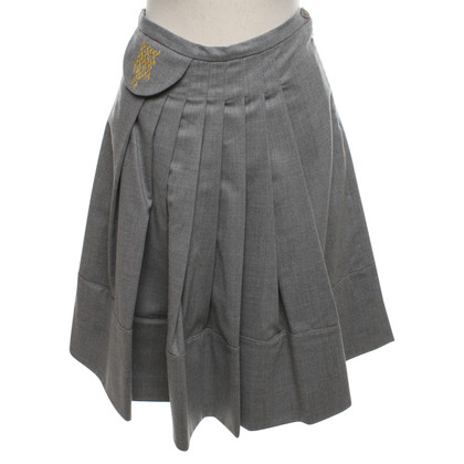 Baum und Pferdgarten Pleated skirt in grey