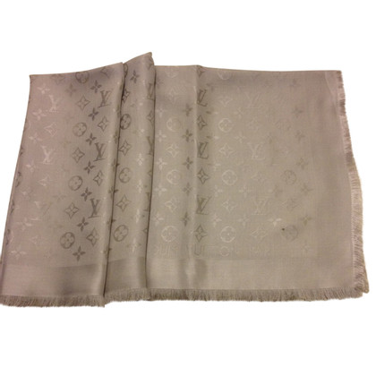 Louis Vuitton Monogram cloth in light grey