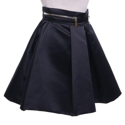 Elisabetta Franchi Pleated skirt in black
