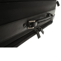 Prada Travel suitcase in black