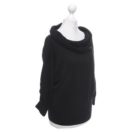 Schumacher Fijn gebreide trui in zwart
