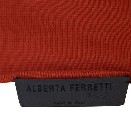 Alberta Ferretti Top mit Schleife