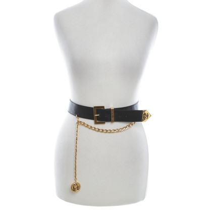 Chanel Belt with chain details
