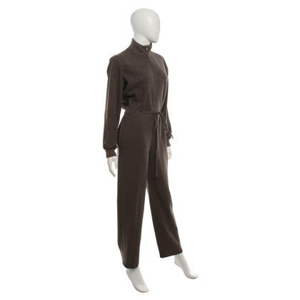 Yves Saint Laurent Jumpsuit in bruin