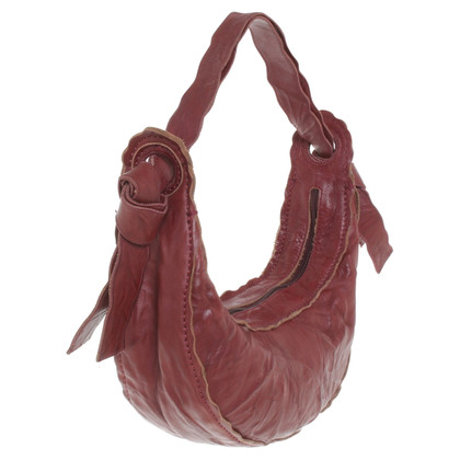 Kenzo Leather handbag in Bordeaux