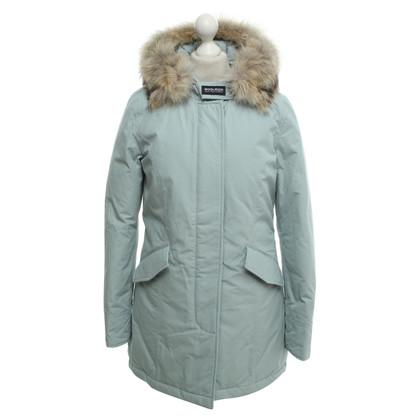 Woolrich « Arctic Parka » en bleu clair