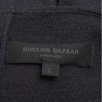 Bruuns Bazaar vestito lavorato a maglia in blu scuro