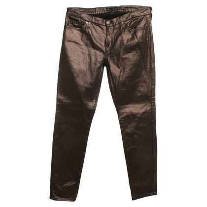 7 For All Mankind Pants with shimmer effect