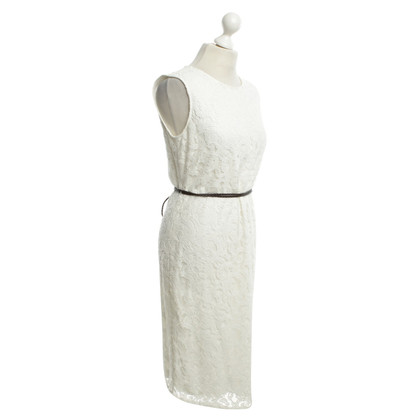 Armani Jeans Lace dress in white
