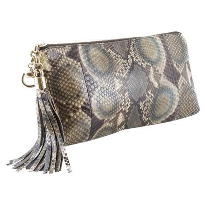 """Gucci """"Sienna Python tassel clutch"""""""