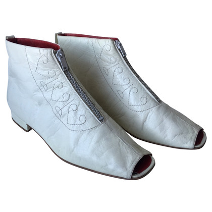Céline Peep Toe Boots