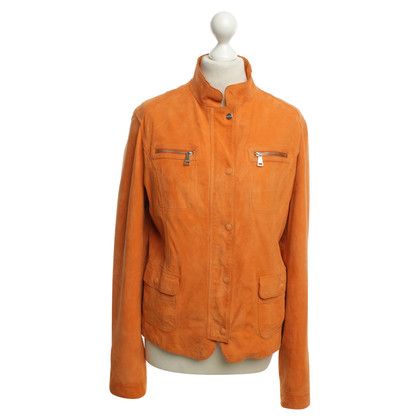 Mabrun Suede jacket in Orange