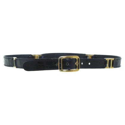 Other Designer Unger - Crocodile leather belt