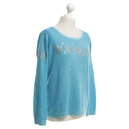 Princess goes Hollywood Knitted sweater in blue
