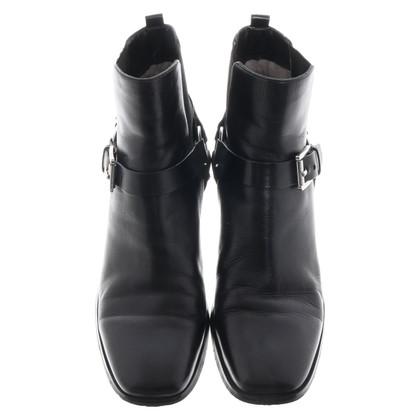 Michael Kors Enkellaarzen in zwart