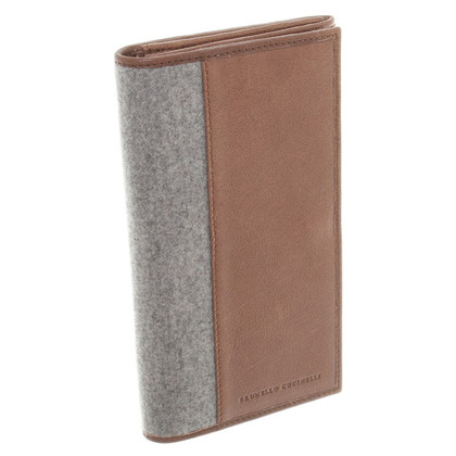 Brunello Cucinelli Wallet in Gray