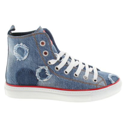 Dsquared2 Sneakers in blauw
