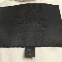 Burberry Prorsum Ledermantel in Beige