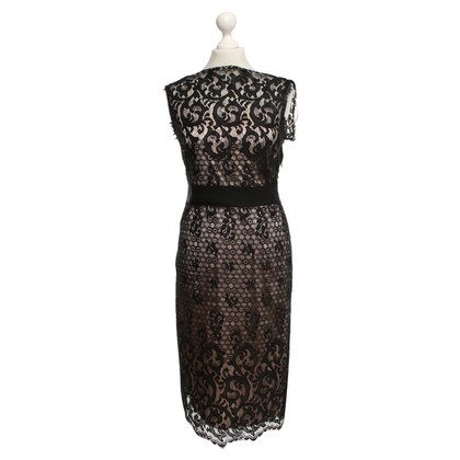 Diane von Furstenberg Lace dress in black