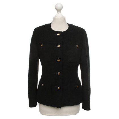 Chanel Bouclé jacket in black