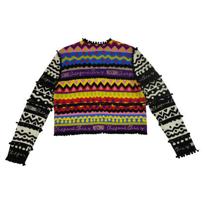 Moschino colorful Cardigan