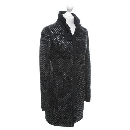 Twin-Set Simona Barbieri Coat in black
