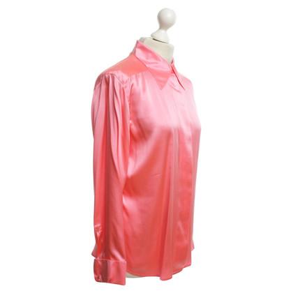 Rena Lange Seidenbluse in Pink