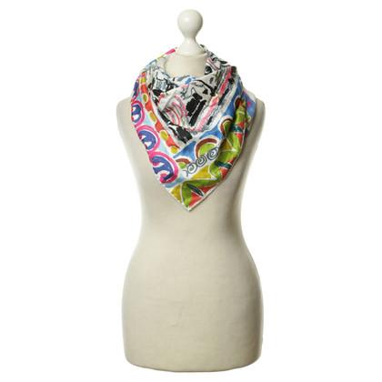 Prada Silk scarf print