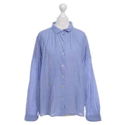 Maison Scotch Bluse in Blau
