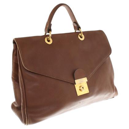 Jil Sander Leather bag in brown