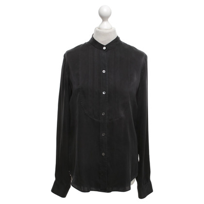 Theory Blouse in zwart