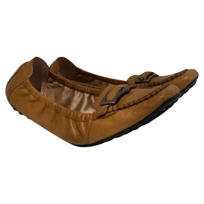 Tod's Loafers in Cognac