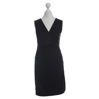 Diane von Furstenberg Black Jersey dress