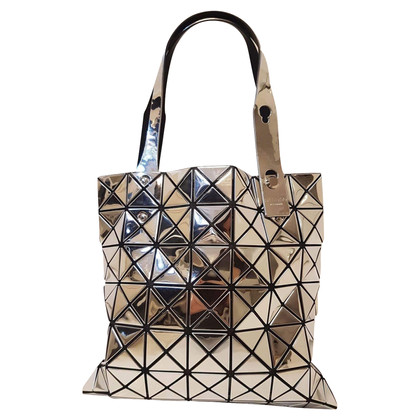 "Issey Miyake ""Bao Bao Prism Tote"" in silver"