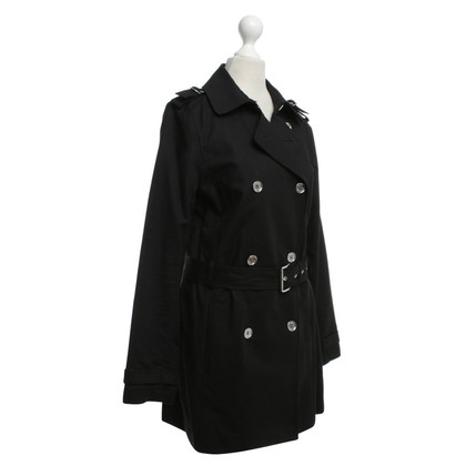 Michael Kors Trenchcoat in Schwarz