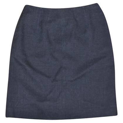 Fendi skirt wool / linen