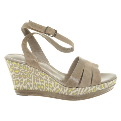 Marc Cain Sandals with wedge heel