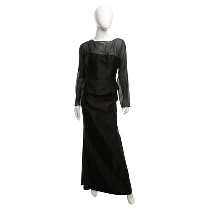 Talbot Runhof 2 teiliges Kleid in changierender Optik