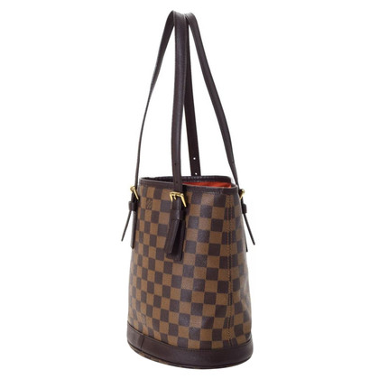 "Louis Vuitton ""Marais Bucket PM Damier Ebene Canvas"""