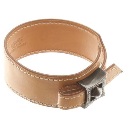 Hermès Leren armband met toepassing
