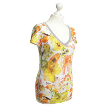 Marc Cain Top con stampa floreale