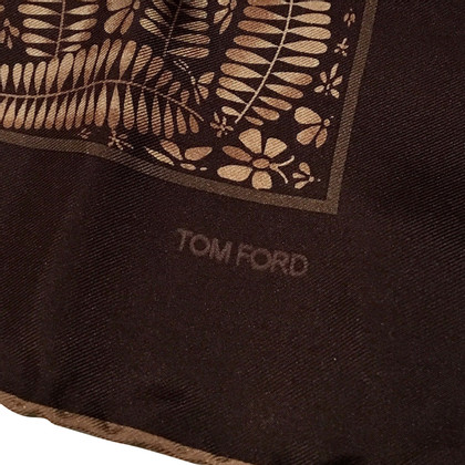 Tom Ford Seidentuch mit Muster