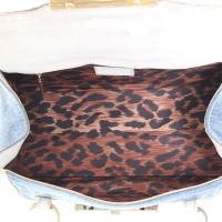 Dolce & Gabbana Sac à main en jeans et cuir