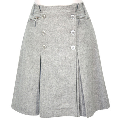 Hobbs skirt in grey