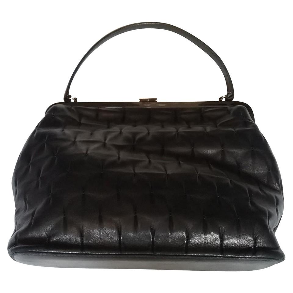 Gianni Versace Handbag Matelasséleder