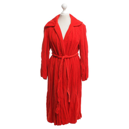 Dries van Noten Coat in red