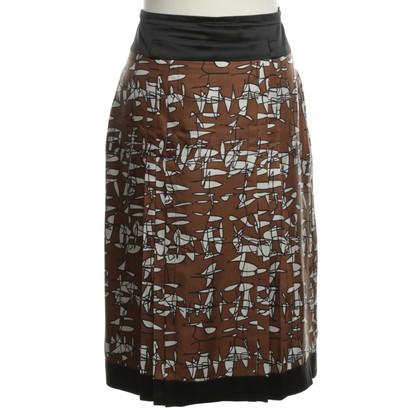 René Lezard Silk skirt pattern