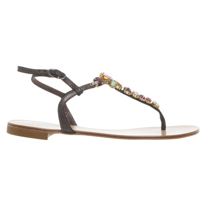 Giuseppe Zanotti Sandals with application