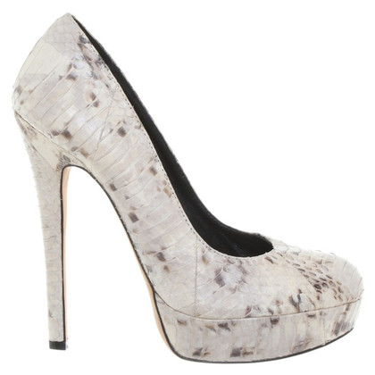 House of Harlow Pumps aus Schlangenleder